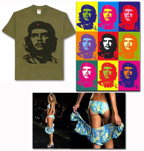 Che + camista, Che + A. Worhol, Che + Gisele